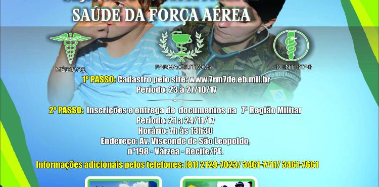 Faça parte do Hospital de Aeronáutica de Recife (HARF)