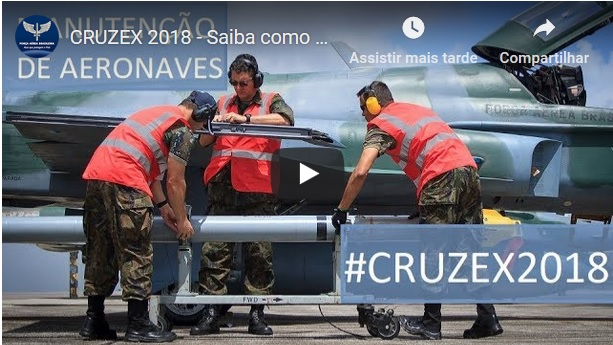 Find out how the Maintenance work is important to CRUZEX 2018 missions