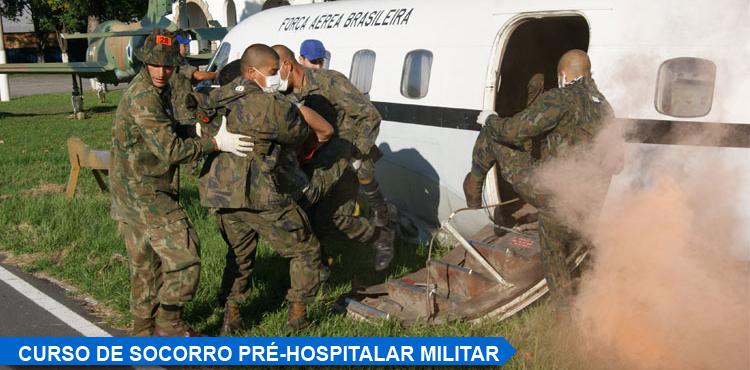Curso de Saúde Pré-Hospitalar Militar