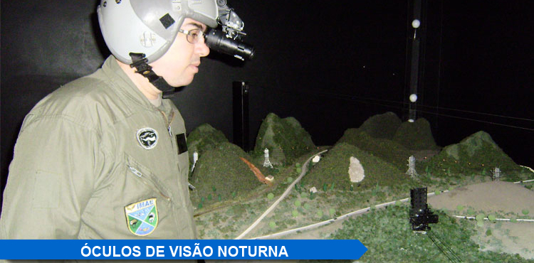 Óculos de Visão Noturna - NVG