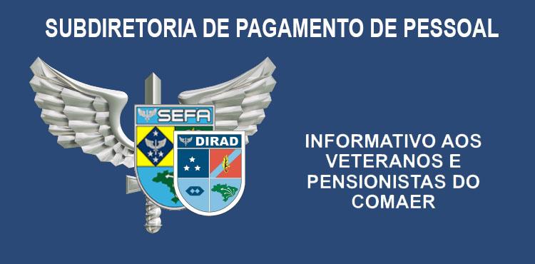 Informativo aos Veteranos e Pensionistas do COMAER
