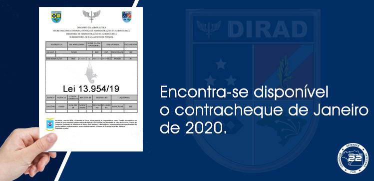 Contracheque Janeiro 2020
