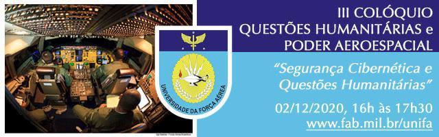 III Colóquio de Questões Humanitárias e Poder Aeroespacial