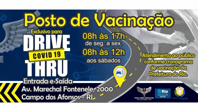 Unidades da FAB Apoiam a Vacinação Contra a COVID-19
