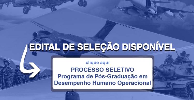 ENSINO - EDITAL DE SELEÇÃO PPGDHO TURMA 2021